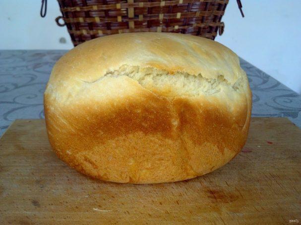 Обычный хлеб для хлебопечки