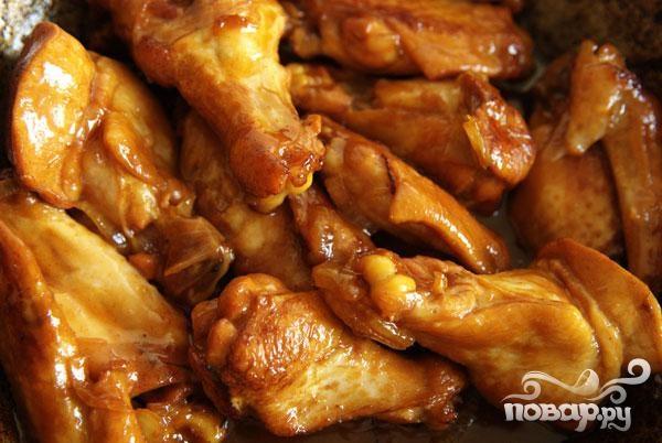 Медовые куриные крылышки