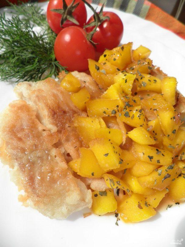 Рыбка с манго