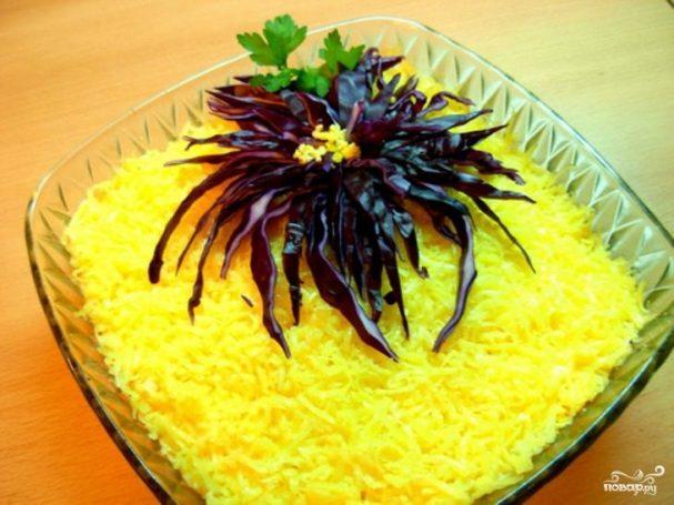 """Торт """"Хризантема"""" – кулинарный рецепт"""