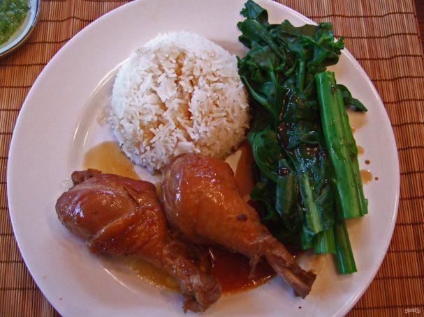Куриные голени в соевом соусе