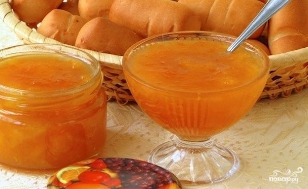 Варенье из мандаринов и яблок