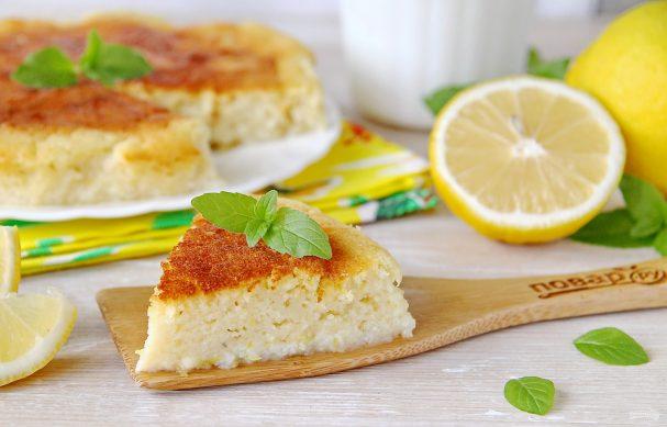 Лимонный пирог от Юлии Высоцкой