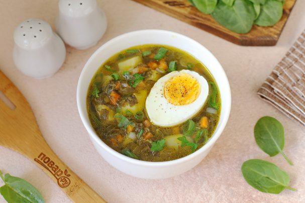 Суп весенний