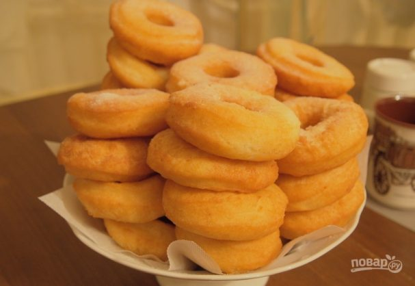 Пончики из творога в растительном масле