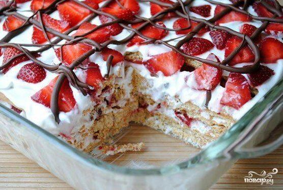 Как сделать вкусный торт из готовых коржей