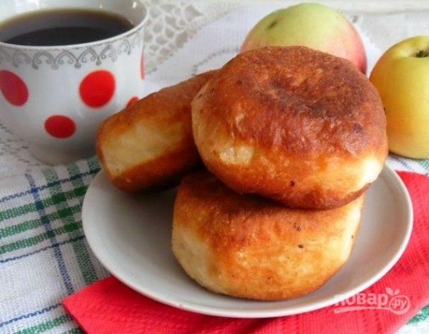 Пончики с яблочной начинкой