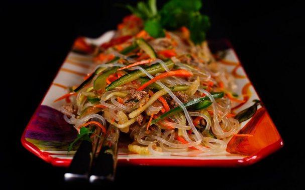 салат фунчоза рецепты фото