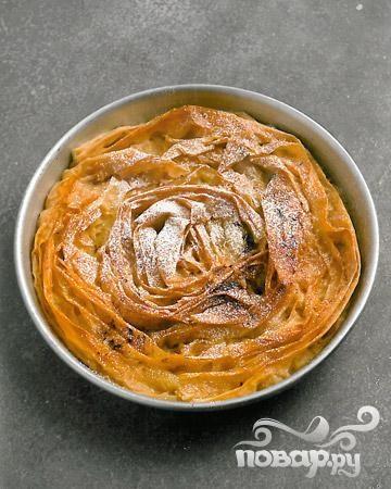 Рифленый молочный пирог