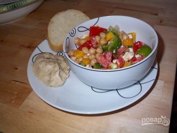 Вкусный салат без майонеза