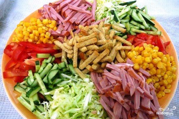 салат на подобии ералаш рецепт