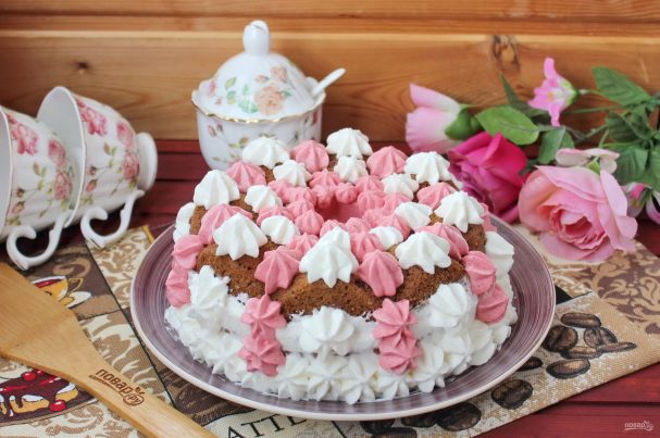 Торт в виде кекса
