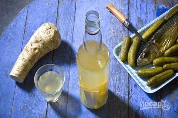 рецепт водки на хрене