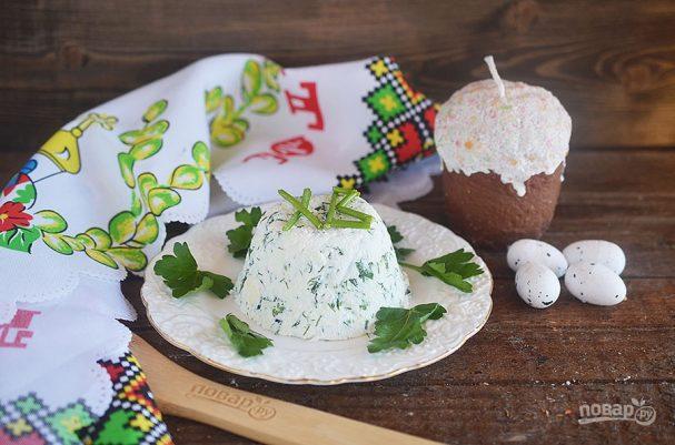 Зеленая Пасха со шпинатом и зеленью
