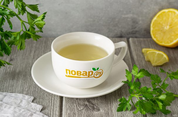 Чай из петрушки