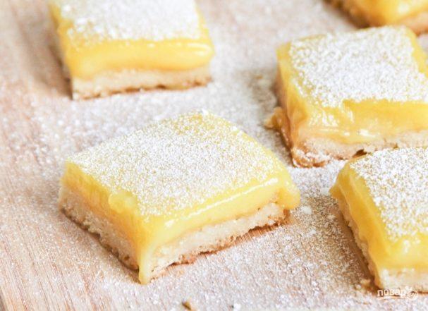 Печенье с лимонной помадкой