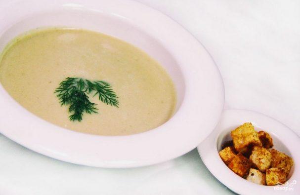 Крем-суп из вешенок