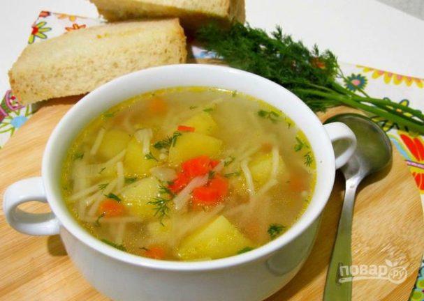 Суп на воде