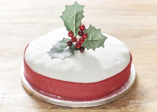 Британский Рождественский кекс