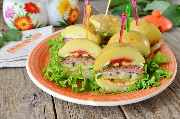 Сэндвичи из картофеля