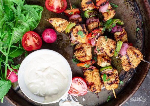Шашлык из курицы (рецепт маринада)