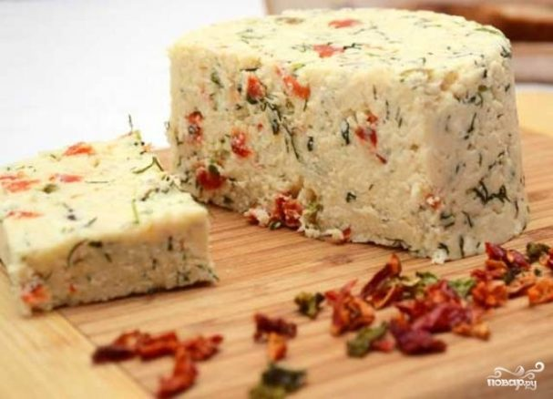 Острый сыр в домашних условиях