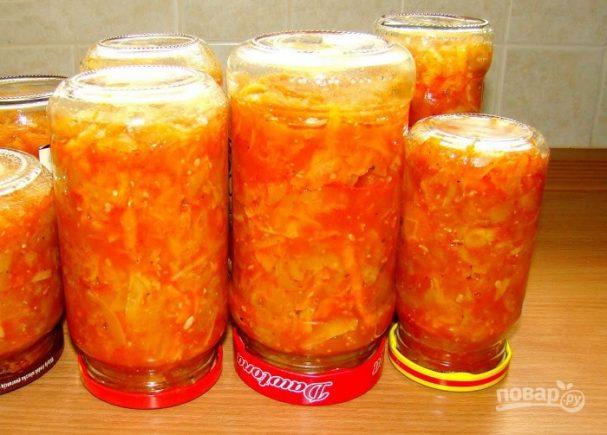 заготовка салатов на зиму из огурцов