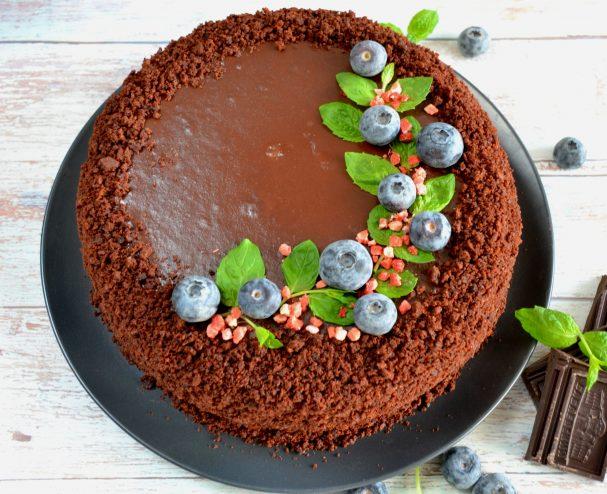 "Торт ""Шоколадный бархат"""