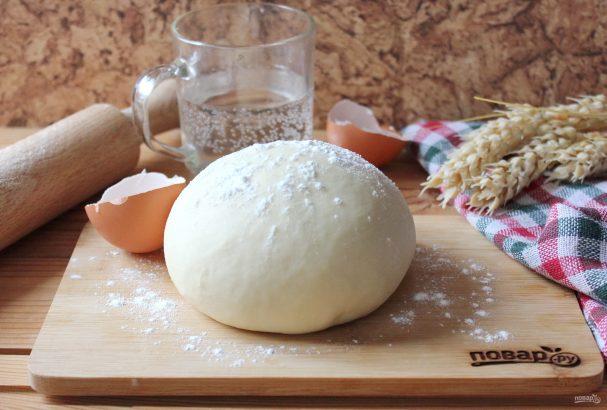 Тесто для вареников на минералке
