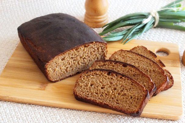 Ржаной дрожжевой хлеб в духовке