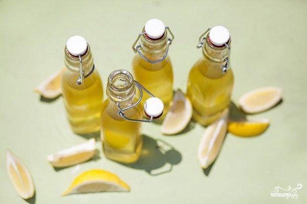 Лимончелло на спирту