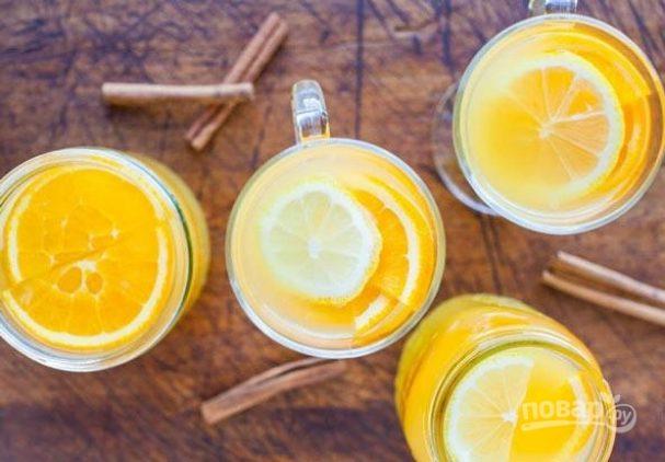 Цитрусовый чай (простой рецепт)