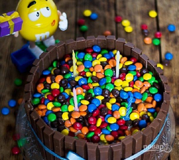 Детский торт своими руками