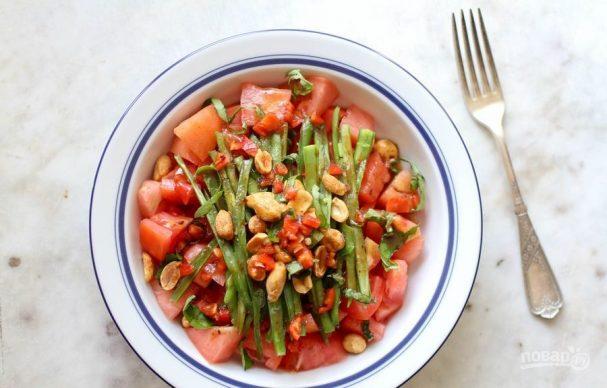 Быстрый салат на ужин