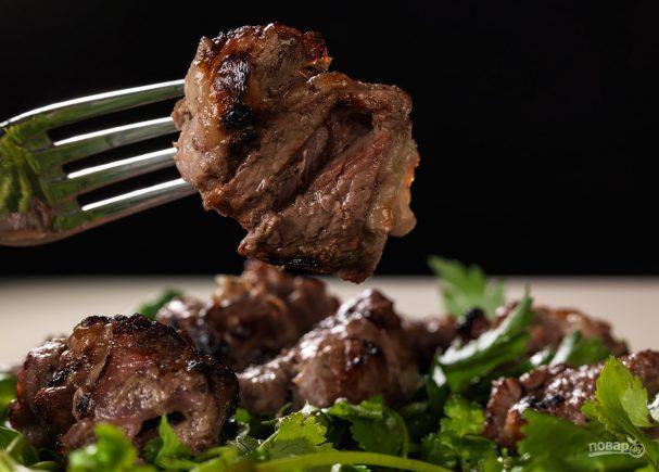 Шашлык из вырезки говядины