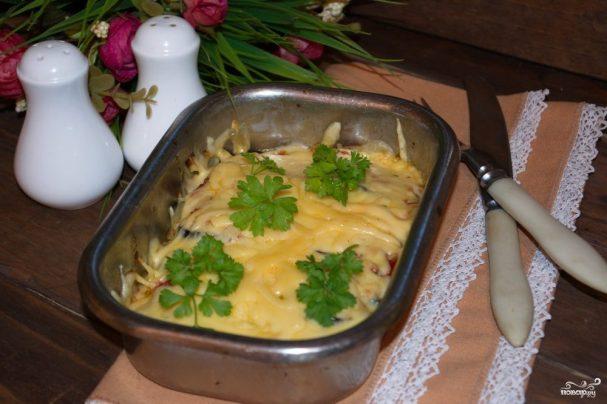 Запеканка с баклажанами и сыром