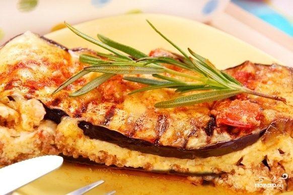 Мусака вегетарианская
