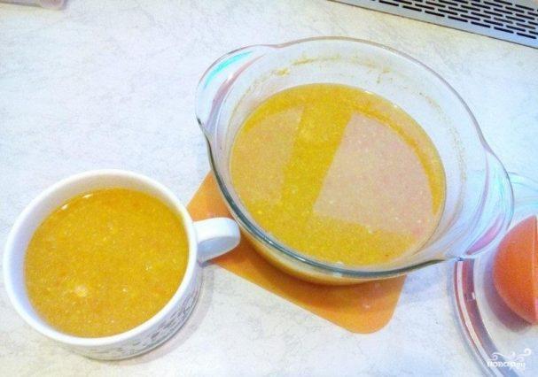 Суп-пюре кукурузный