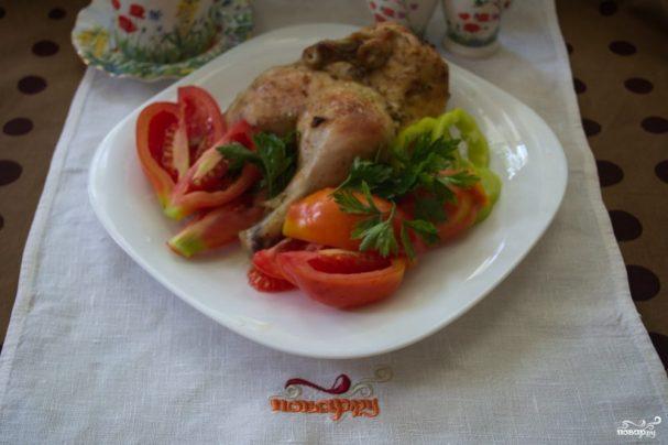 Диетическая курица в духовке