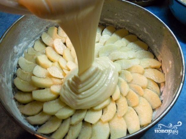 Крем-тесто для яблочного пирога
