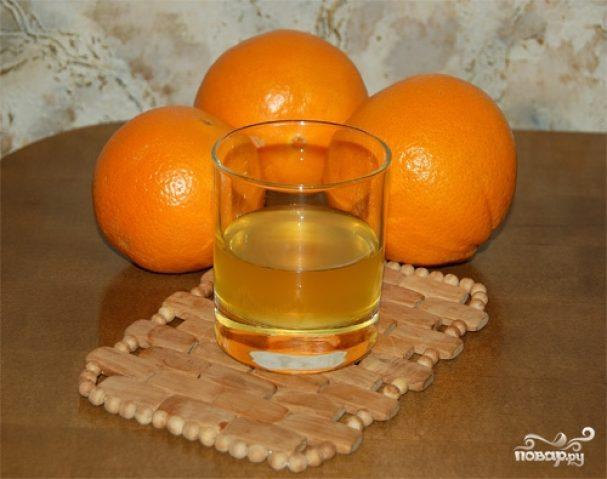 Сироп из апельсинов