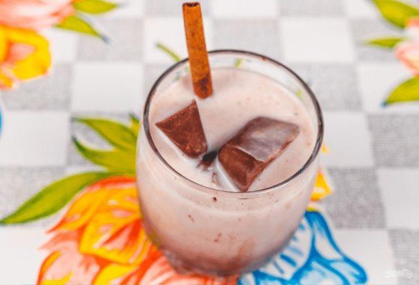 Шоколадный лед для молочного коктейля