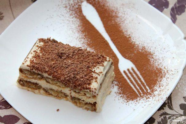Тирамису рецепт тесто