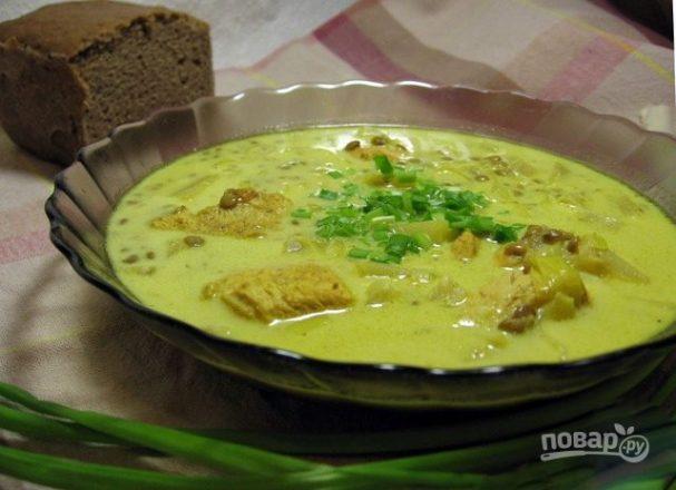 Необычный куриный суп