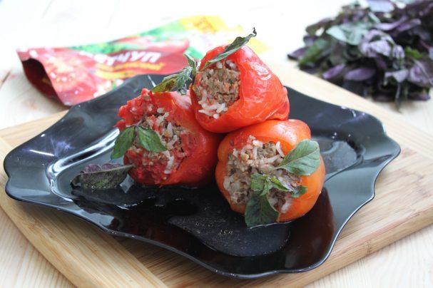 Лучший рецепт фаршированных перцев с кетчупом
