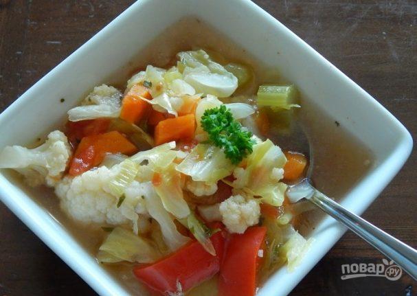 Суп для похудения из сельдерея