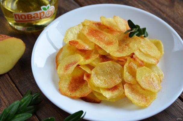 Домашние картофельные чипсы