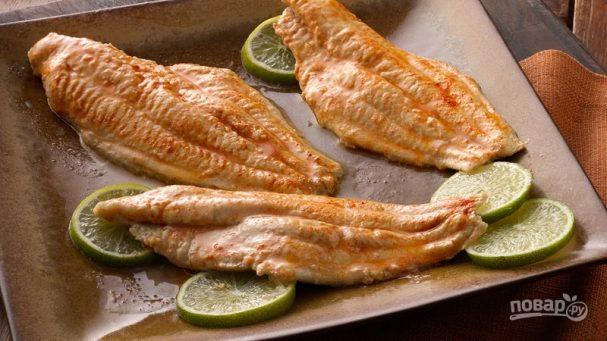 Рыба гриль в духовке