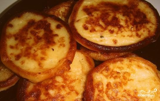 Оладьи из пюре картофельного