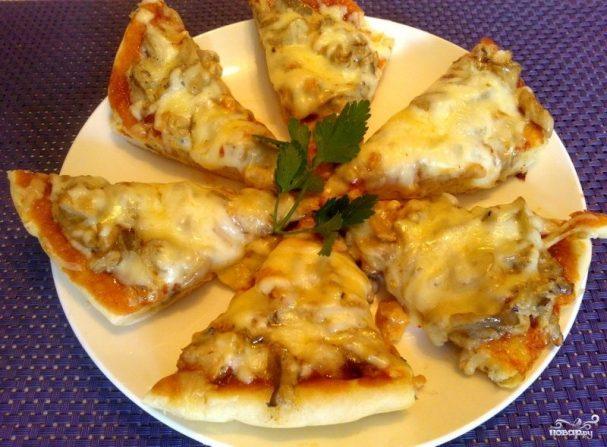 Начинка для пиццы с грибами